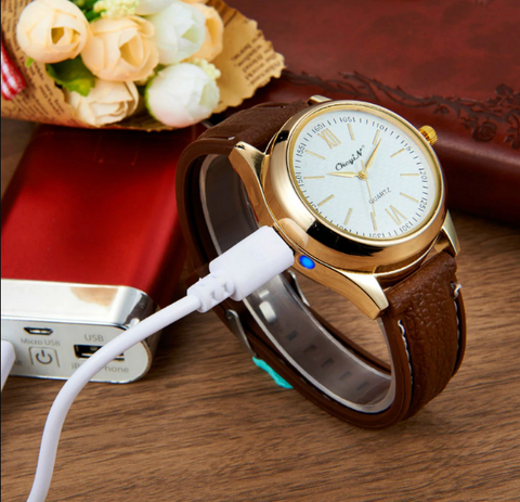 lighter watch usb rechargeable