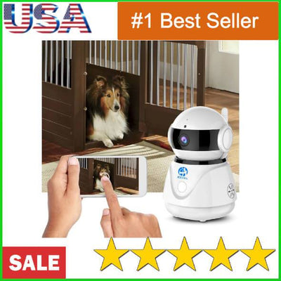 Dog Camera Wireless Pet Security Video Cam