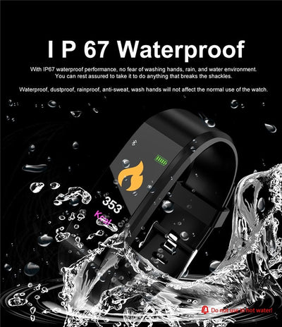 High Performance Waterproof Fitness Tracker