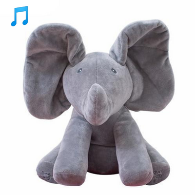 Musical Peek a Boo Elephant