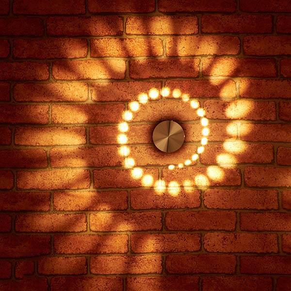 2 PCs Spiral Wall Lamp