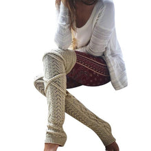 Load image into Gallery viewer, Compify™ Woolen Knitted Leg Warmers