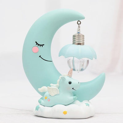 Premium Unicorn & Moon Cute Lamp