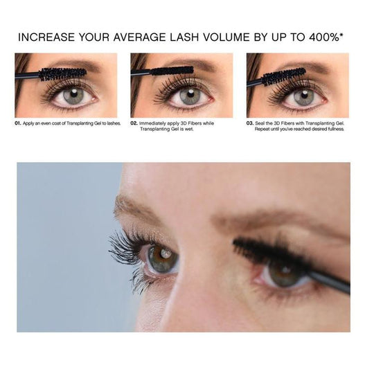 2947a90c498 Guaranteed to provide you with the coveted look of false eyelashes with the  ease of a mascara. Click ADD TO CARTto get your 3D Silk Fiber ...