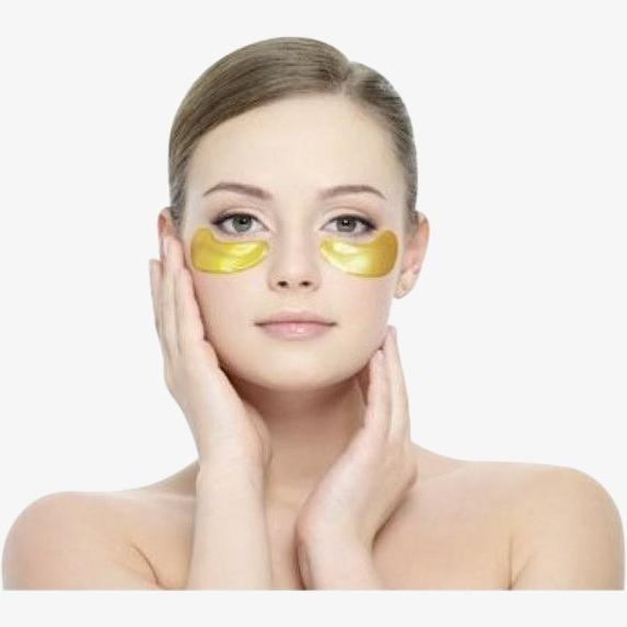 24K Golden Collagen Eye Mask