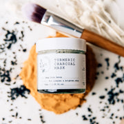 Turmeric Charcoal Mask with Free Brush