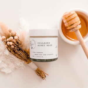 Collagen Honey Mask with Free Brush