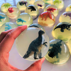 Dinosaur Egg Jelly Soap