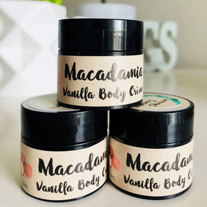 Macadamia & Vanilla Body Creme (Travel Size)