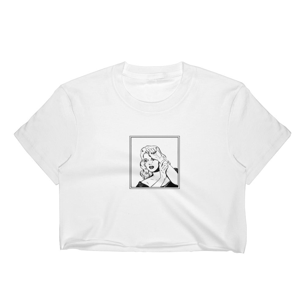 Women's Crop Top - IT GIRL