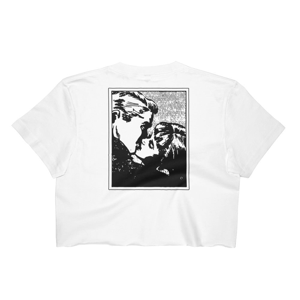 Women's Crop Top - THE KISS