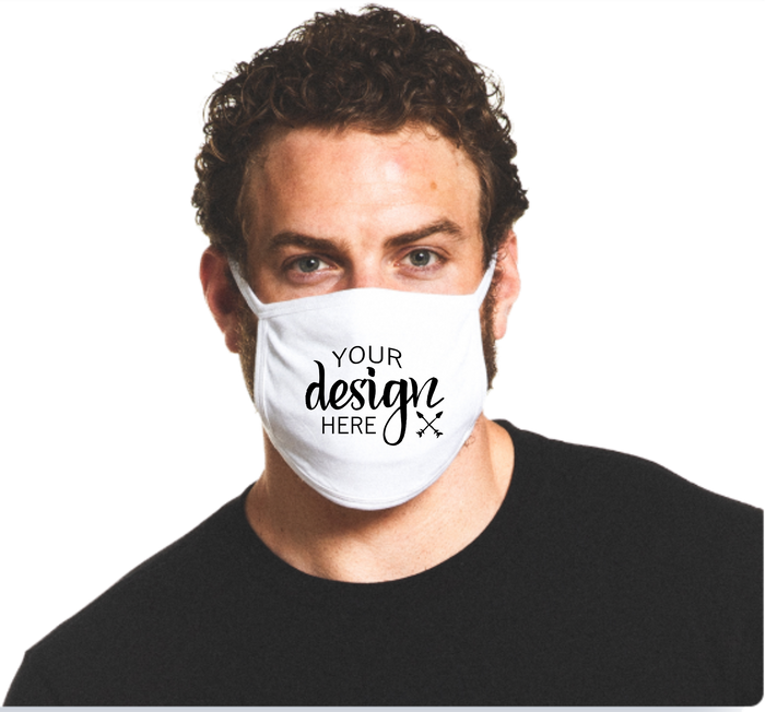 $8.00 SALE Screen Printed Face Masks