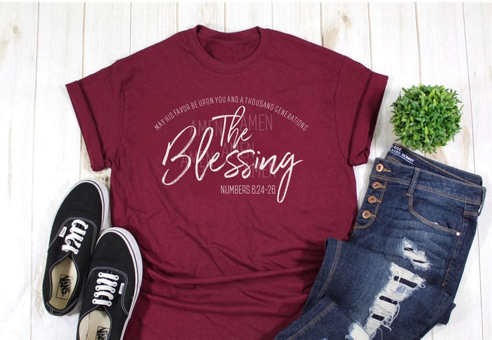 The Blessing Tee - More Colors