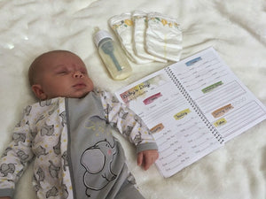 Baby Schedule Tracker Booklet