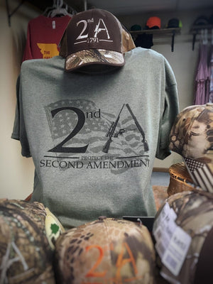 2nd Amendment Screen Printed Tees