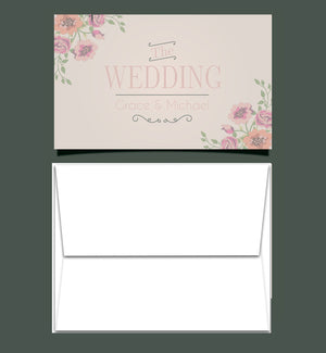 Invitations with Blank Envelopes - invitation