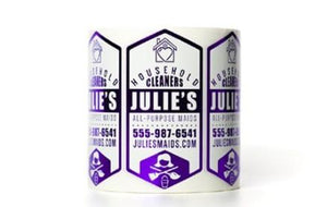 Roll Labels/Stickers - Square Cut - roll label/sticker