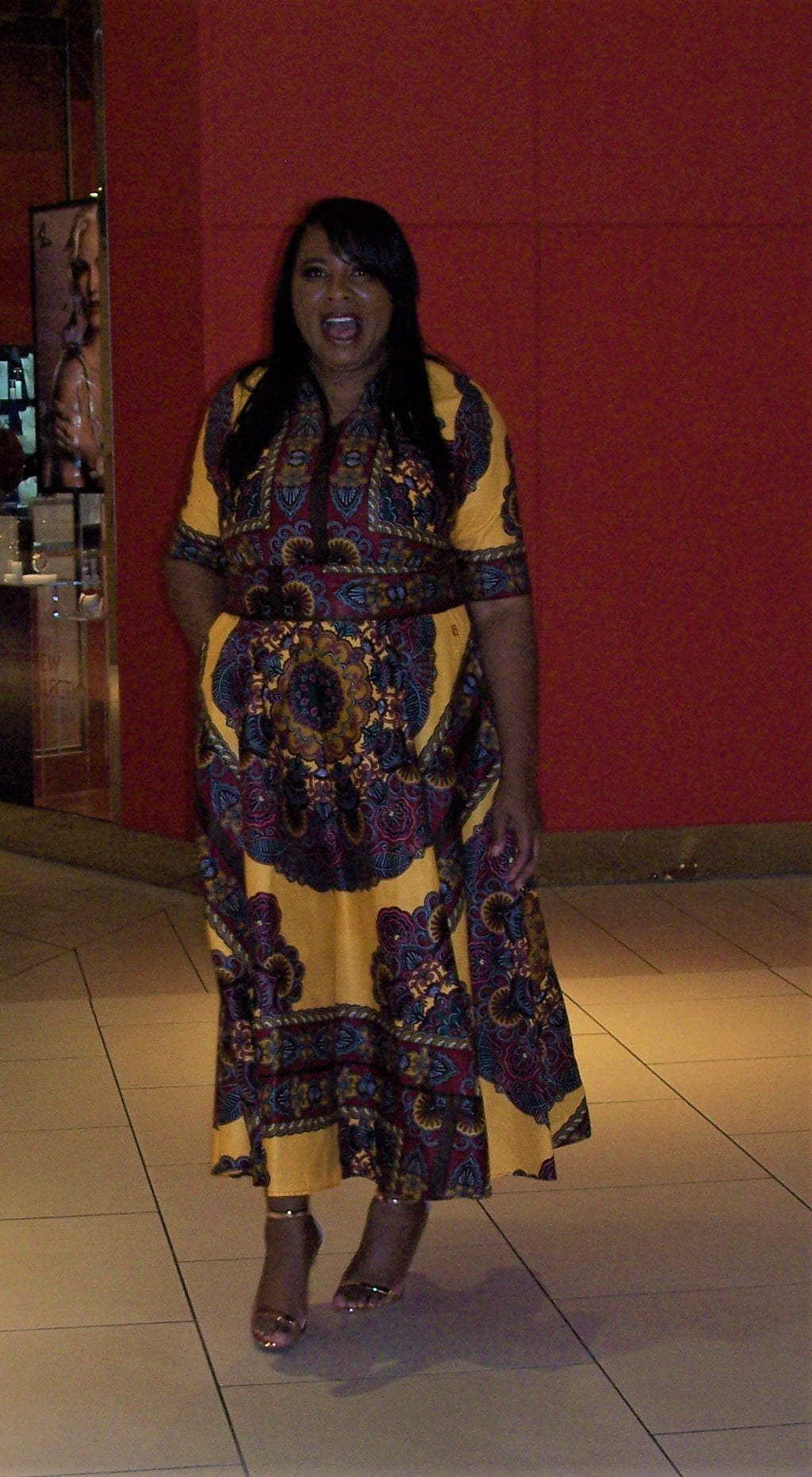 Show Stopper  African Fashion - Maxi Dress