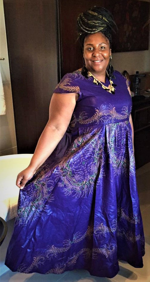 Purple Midnight Maxi Dress