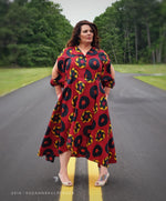 Going In Circles - African Clothing - Maxi Dress