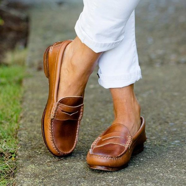 All Season Low Heel Comfortable Loafers