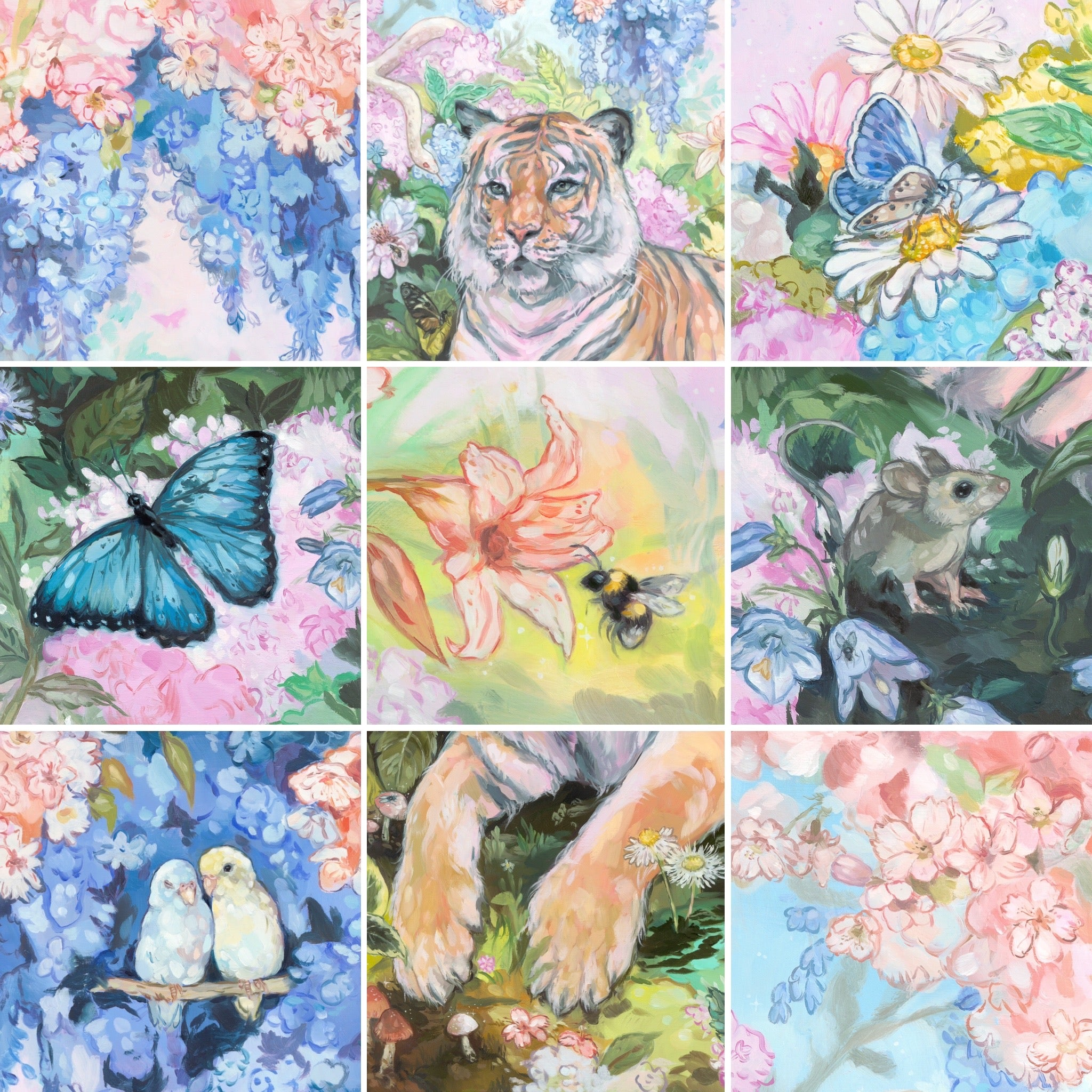The Pollinators Print Pack