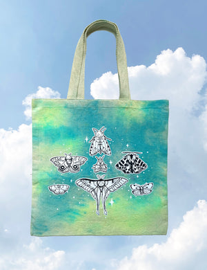 SKY DYE special edition - MOTH TOTE BAG