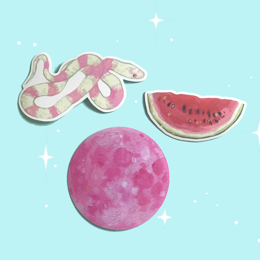 Pink Dream Stickers