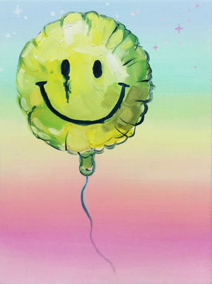 "♥︎Smiley Balloon♥︎ 8.5x11"" Art Print"