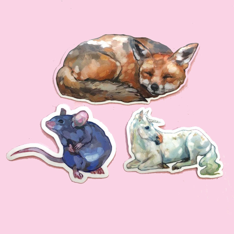 Animal Stickers PART 2 <3