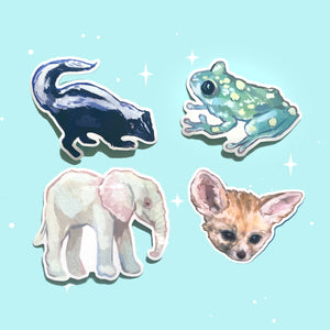 Creature Stickers
