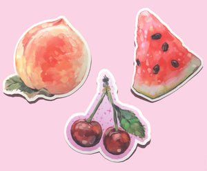 Fruity Stickers <3