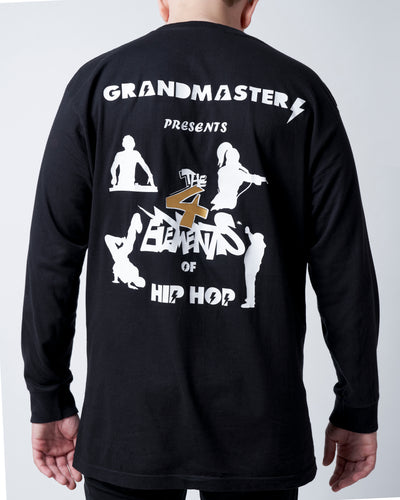 The 4 Elements of Hip Hop Long Sleeve T-Shirt