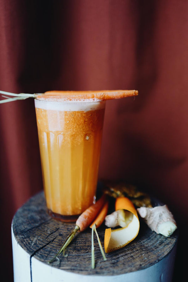 Carrot and Ginger Hot Smoothie