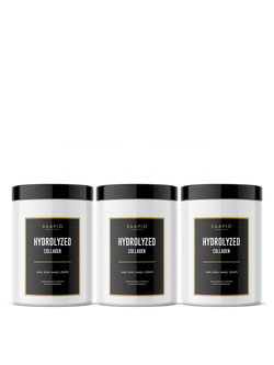 3x HYDROLYZED COLLAGEN (300 g)
