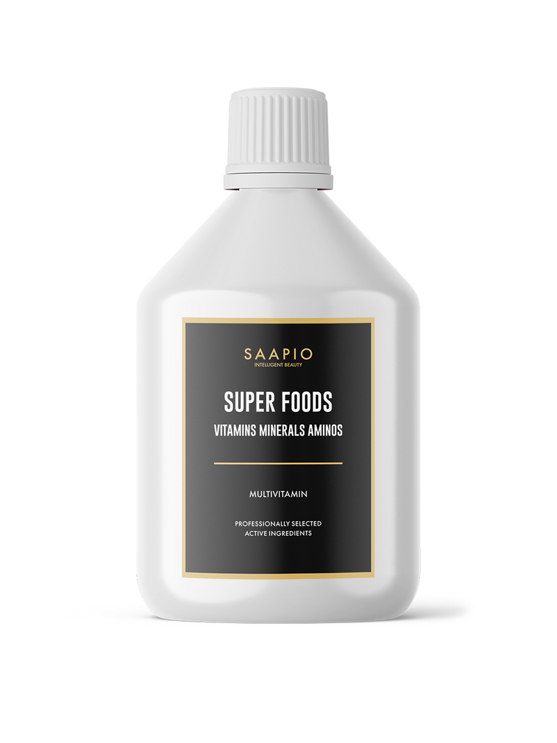 SUPER FOODS VITAMINS MINERALS AMINOS (500 ML)