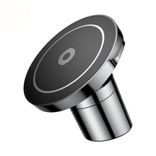 Load image into Gallery viewer, Car Mount Magnetic Wireless Charger and Holding Stand