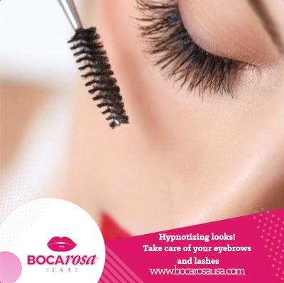 Hypnotizing looks! Take care of your eyebrows and lashes
