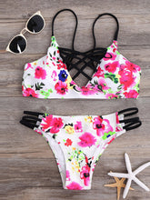 Sexy Printed Triangle Bikini Swimwear