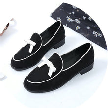 Fashion Pure Color Flat Shoes With Bow-Knot