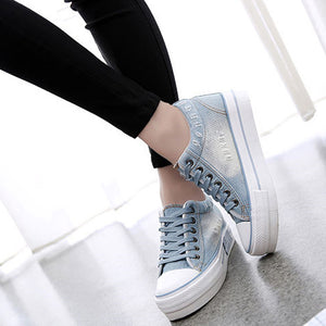 Breathable Casual Denim Shoes