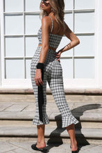 Fashion Sexy Gird Sleeveless Two-Piece Jumpsuit Outfits