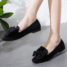 Plain  Flat  Velvet  Round Toe  Date Office Flat & Loafers