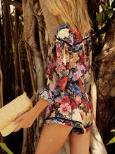 Casual Print Beach Jumpsuit