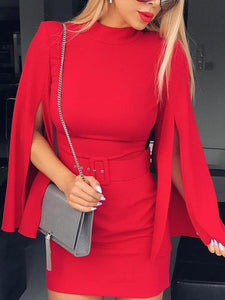 Sexy Red Bodycon Dress