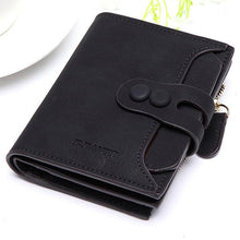 Women PU Short Wallet Newest Top Sale Zipper Hasp Purse Wallet Coin Bag