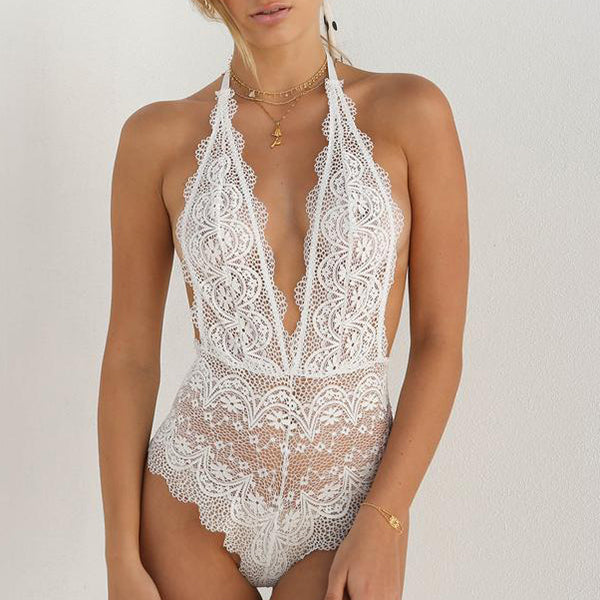 Sexy Lace Fun Jumpsuit