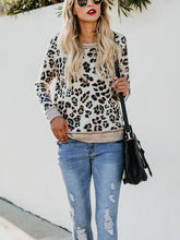 Autumn & Winter Fashion Leopard Print Knitted Tops
