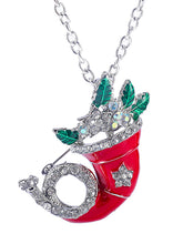2018 Christmas Hat Necklace