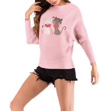 Autumn & Winter Christmas Reindeer Knitting Sweater Top